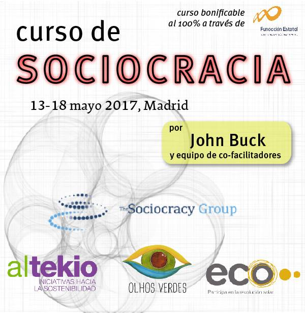 Sociocracy Course flyer