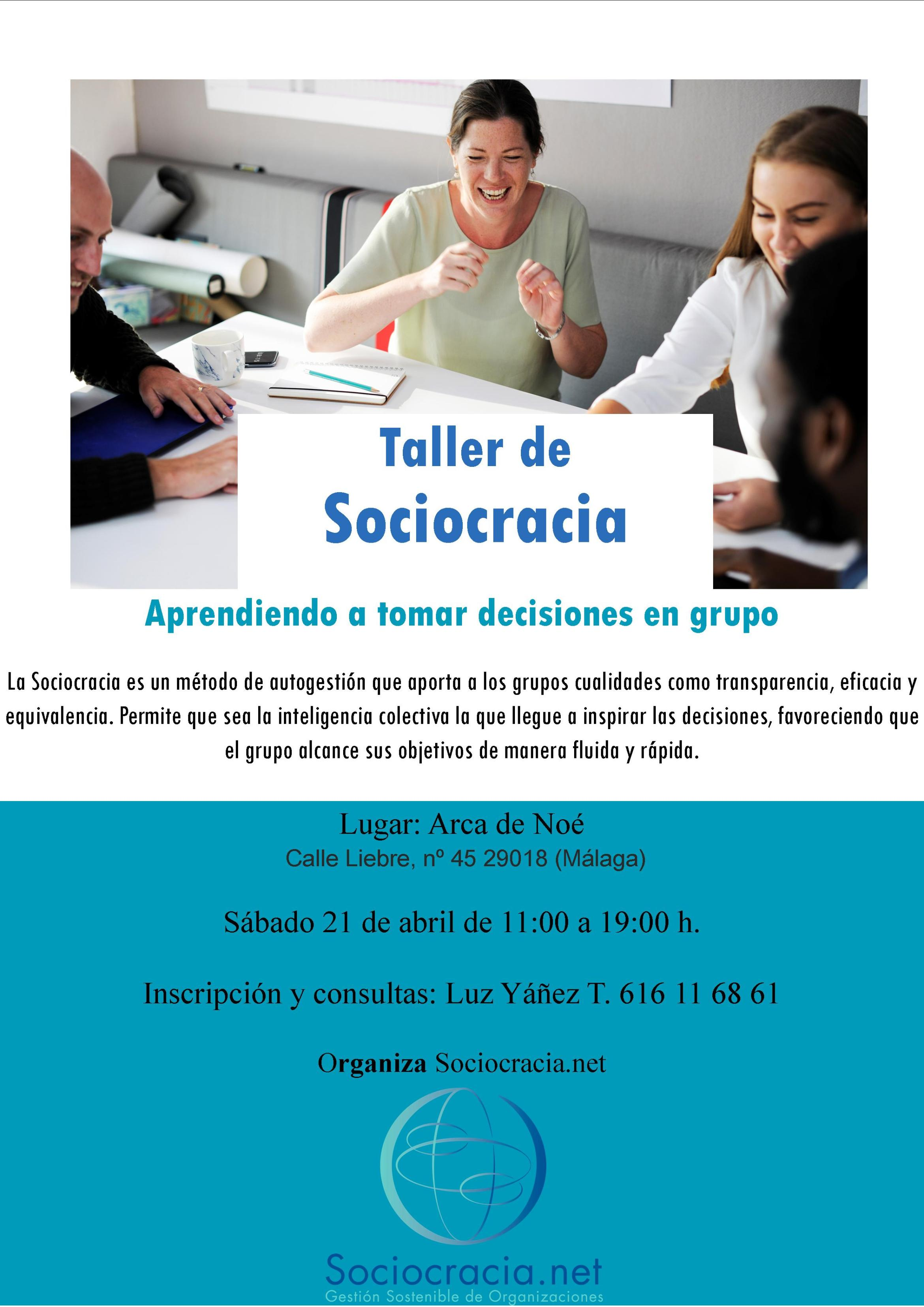 Cartel Sociocracia Feb 2018